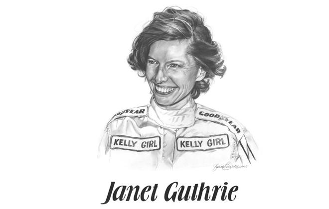 Janet Gutherie International Motorsports Hall of Fame Member