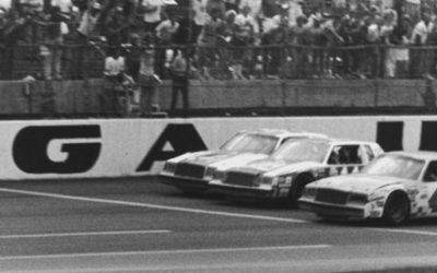 Bouchards Buick From Thrilling 1981 Finish At Talladega