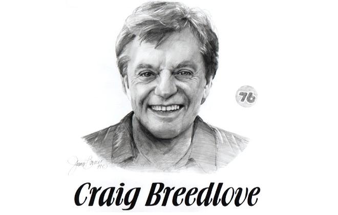 Craig Breedlove Motorsports Hall of Fame Member