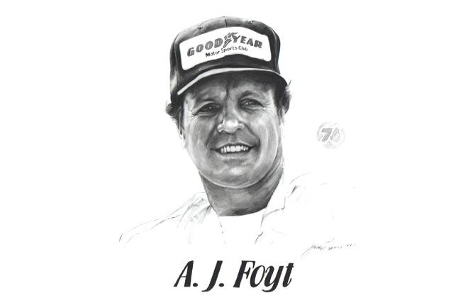 AJ Foyt Motorsports Hall of Fame Member