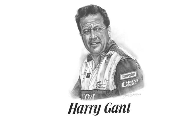 Harry Gant Motorsports Hall of Fame Member