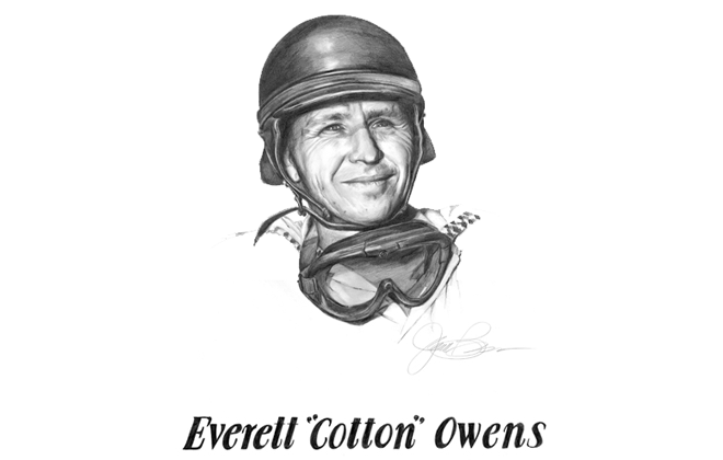 Everett Cotton Owens International Motorsports Hall of Fame