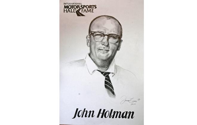 John Holman International Motorsports Hall of Fame Member