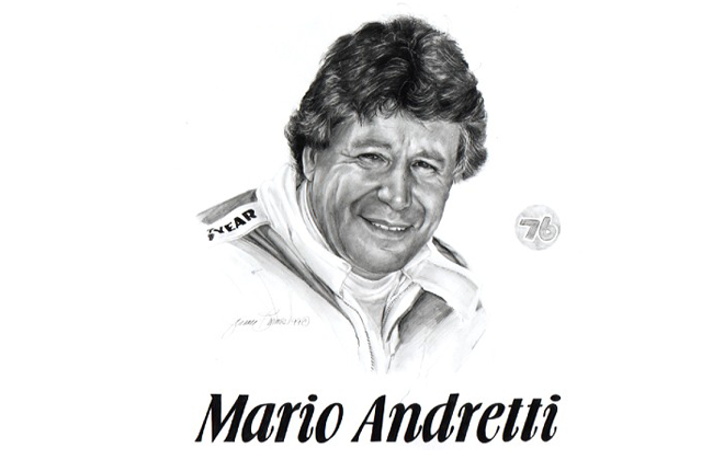 Mario Andretti: in 1992 was named Driver of the Quarter Century - CLASS OF 2000
