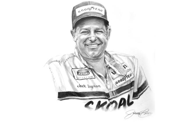 Jack Ingram International Motorsports Hall of Fame Member
