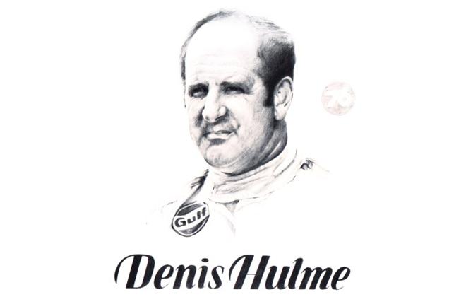 Denis Hulme International Motorsports Hall of Fame Member