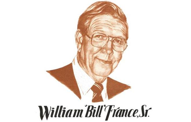 """William """"Bill"""" France, Sr. Motorsports Hall of Fame Member"""