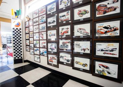 International Motorsports Hall of Fame Wall