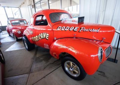 International Motorsports Hall of Fame Race Car Dogde