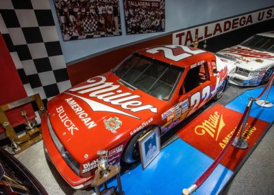 International Motorsports Hall of Fame Miller Race Car