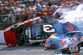 Earnhardt Elliott Crash