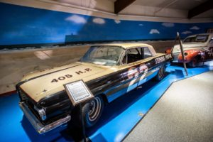 Fireball Roberts Car at the Motorsports Hall of Fame